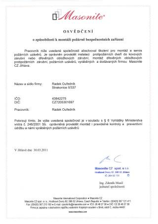 masonite_certifikat