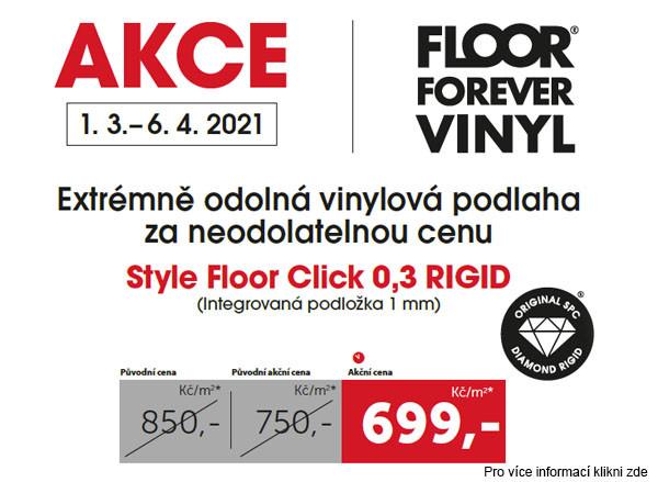 FloorForever akce Style vinyl